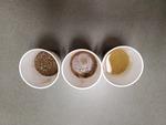 soil samples water added