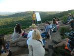 Lecture with a view by Kelly Fowler