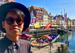 Selfie at Nyhavn by Paolo Garcia