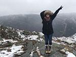 Norway Mountain Tops by Amanda Mason