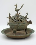 02 Incense Burner with plate